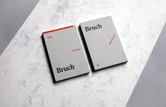 "The branding for Bruch is a reference to the name and the tagline ""Idee&Form"". Defined Shapes, color and typography are arranged according to an idea and communicate the name ""Bruch"" in a subtly way. The vivid and changeable arrengements are also a refere…"