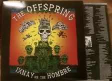 OFFSPRING Ixnay on the Hombre Rare pop Punk Hardcore VINYL LP KBD Greenday NOFX Greenday, Pop Punk, Lp, Collection