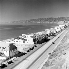 When I first came to California from New York, I moved to Malibu. I love the old images of PCH; this one was taken in 1938 by Alfred Eisenstaedt is exquisite.