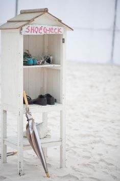 Shoe Deck... Not only for the beach