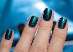 Combinando Esmaltes: teal (verde petróleo) metálico - Unha Bonita