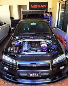 #Nissan #GTR #RB26 #Engine_Bay