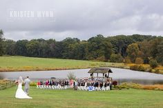 Kate and Jeff – Wedding Ceremony and Reception at Armstrong Farms, Westminster Preserve | Kristen Wynn Photography