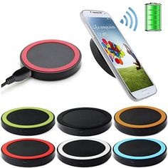 QI Wireless Charger Charging Dock Power Pad For iPhone Samsung S6 / S6 Edge