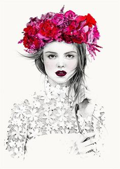 Chic Fashion Illustrations by Kelly Smith  <3 <3