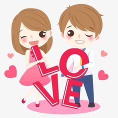 Cartoon love drawing, lovely couple, brown haired boy and girl illustration png clipart Valentines Day Drawing, Valentines Day Wishes, Love Cartoon Couple, Cute Couple Art, Cartoon Drawings Of Animals, Cartoon Girl Drawing, Couple Drawings, Love Drawings, Couple Clipart