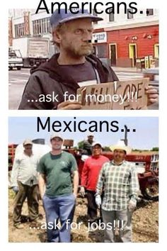 Hell yea, and Americans want to deport us... We work harder than they do!!