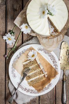 Ein klitzekleines Blog | Mein bestes Rezept für ein { klitzekleines Karottentörtchen mit Cream-Cheese-Frosting } – An die Gabeln, fertig, los!