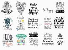 Discover recipes, home ideas, style inspiration and other ideas to try. Flamingo Art, Teaching Spanish, Journal Cards, Word Art, Wall Sticker, Hand Lettering, Typography, Clip Art, Amor