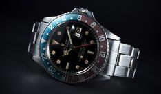 """Rolex GMT Master - Four references 1675 and two 16750 will be auctioned at """"Watches of Knightsbridge"""" September the 12th"""