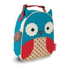 Lunchtasche Eule Taschen/Rucksäcke blau/rot