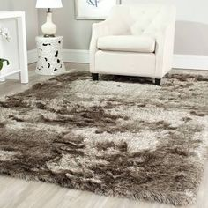 large faux fur area rug google search