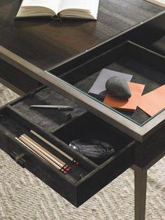 Agnese Desk, Russet - Desks - Office - Furniture  One Kings Lane #Russet#Desks#Agnese