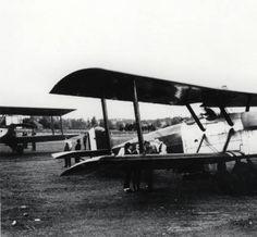 Airplane from U. S. Army's World Fliers - Medford, Oregon - 1924