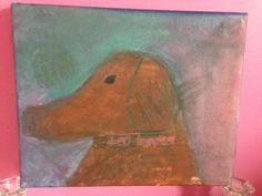 Portrait of my dog  (granddaughter)