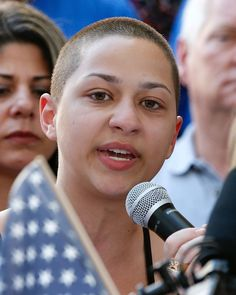 """They say that tougher gun laws do not decrease gun violence: We call BS! They say a good guy with a gun stops a bad guy with a gun: We call BS! They say guns are just tools like knives and are as dangerous as cars: We call BS!"" 17-year-old Emma Gonzalez pleads for gun control reform in the wake of the shooting at the Majory Stoneman Douglas High School. Many students from around the country will be participating in the #MarchForOurLives movement taking place in Washington D.C. on March 24th…"