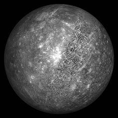 Mercury - 4879 km diameter