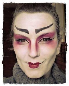 #Japanese #makeup #artistic #fantasy #japonesa #geisha #maquillaje