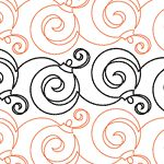Christmas Doodle Petite - for long-arm quilt machine Digital UE-CD-P_DIGITAL