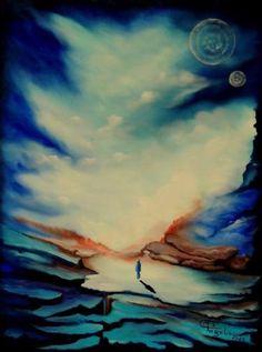"Saatchi Art Artist Giuseppe Alberto Regoli; Painting, ""Parallel Lives"" #art"