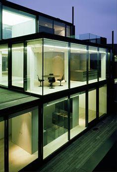 Penthouse in Antwerp, by Vincent Van Duysen.