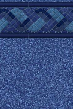 Raleigh Blue pool liner from Highbury Pools