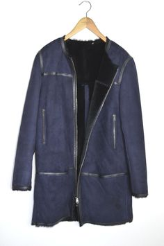 76ae89b4059 For sale is an stunningly beautiful AllSaints Spitalfields ladies CARADON  Shearling Coat in size This product is colour fast to the highest standard  ...
