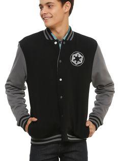 Star Wars Imperial/Rebel Reversible Varsity Jacket   Hot Topic