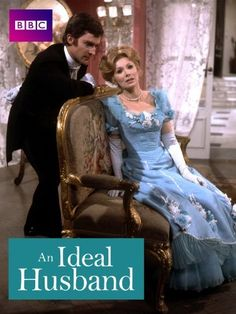 """missmorland: """" Jeremy Brett and Susan Hampshire in An Ideal Husband """" Oh that blue dress. I loved this version. And young Jeremy Brett. Just…yummy! Jeremy Brett Sherlock Holmes, Detective Sherlock Holmes, Sherlock Holmes Stories, Period Movies, Period Dramas, Really Good Movies, Picture Movie, Stage Play, She Is Gorgeous"""