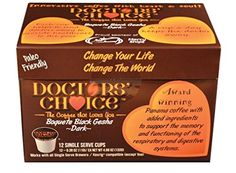 Doctors Choice AntiAging  Memory Support Boquete Black Gesha 12 Count Carton -- ** AMAZON BEST BUY **