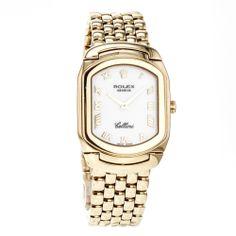Rolex Cellini 6631 18k Solid Yellow Gold Quartz Wrist Watch for Women #Rolex #LuxuryDressStyles