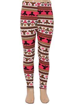 E4U Girls Casual Mysical Annunaki Fun Printed Fashion Leggings. Available in two sizes: S/M, and L/XL.