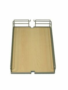 "Tray Set, Arena, steel, chrome / maple, 16"" x 20 3/8"" x 4 1/8"" (1 set = 2 trays) by Hafele America. $280.00. 1 set/pkg. Tray Set, Arena, steel, chrome / maple, 16"" x 20 3/8"" x 4 1/8"" (1 set = 2 trays)"