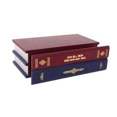 Prateleira Livros Flutuantes Vermelho e Azul