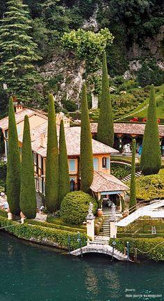 Villa La Cassinella, Lake Como ( belongs to Sir Richard Branson)
