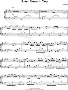 I LOVE to play this song.  It's so peaceful and beautiful and it flows perfectly.  Didn't take me too long to learn, but if you love music, look it up! :)  It's called 'River Flows in You' by Yiruma.