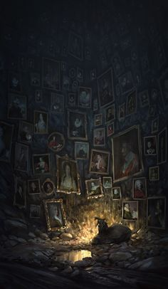 Digital Art: Atmospheric imagery by Quentin Regnes Quentin Regnes is a . - Digital Art: Atmospheric imagery by Quentin Regnes Quentin Regnes is a French illustrator and conce - Dark Fantasy Art, Fantasy Kunst, Dark Art, Digital Art Fantasy, Fantasy Concept Art, Fantasy Artwork, Arte Horror, Horror Art, Art Sinistre