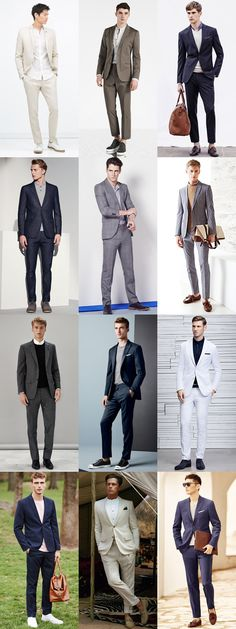 Men's Tieless Suits Summer Outfit Inspiration Lookbook #men #style #suits