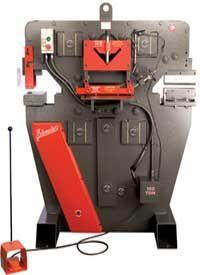 """Edwards 100 Ton """"Jaws 4"""" Ironworker #machine #tool"""