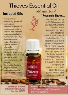 Young Living Essential Oils: Thieves: