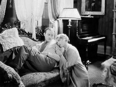 "leilahyams: "" Conrad Nagel and Leila Hyams in The Idle Rich (1929). """