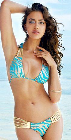 25 Hot Bikinis  Swimsuits For Summer2014 - Style Estate - Beach Bunny 2014 Take the Reins Turquoise Bikini