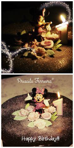 Birthday cake with Minnie!!!