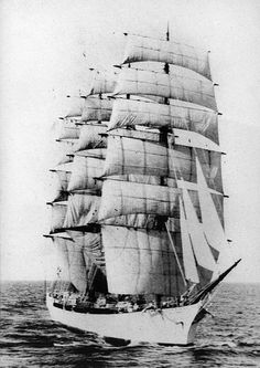 Square Rigger Round The Horn - by C. Ray Wilmore. the true story of a young man kicking over a conventional business career to join the crew of the John Ena, a square rigged sailing ship, on one of the most challenging trade routs of the day.