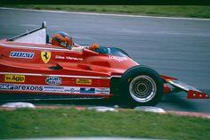 1980 British Grand Prix; Ferrari 312 T5 F1 Gilles Villeneuve