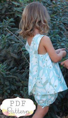 Reversible Pinafore Dress. Love this!