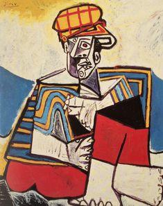 Pablo Picasso - The Smoker. 1953