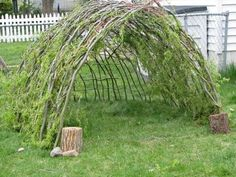 How To: Make A Willow House