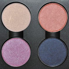 MAC A Rose Is A Rose Eyeshadow Quad : Solar White (Frost), Seeds of Love (Frost); Petal Worship (Lustre), Contrast (Velvet)