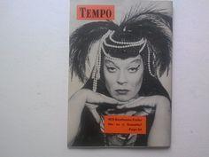 Tempo Mini Mag Carol Channing Delilah, the Vamp Nov 15 1955